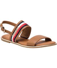 3bad0c55f209 Tommy Hilfiger Dámske sandále Flat Sandal Corpo rate Ribbon FW0FW04049 -929