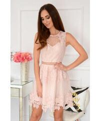 fb19927cc5f1 Bella Donna Spoločenské krajkované šaty Pella