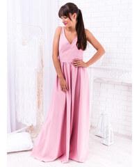 6eafa73ad8ac www.glashgirl.sk Ružové dlhé spoločenské šaty Megan