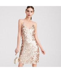 f49fdc9957 Reserved - Aranyszínű flitteres ruha - Arany
