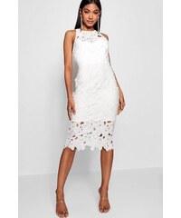 506a2e910693 BOOHOO Upnuté šaty se srdíčkovým výstřihem