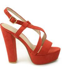 be7656e49537 Crvene boje Ženske sandale