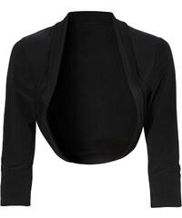 BODYFLIRT Shirtbolero 3/4 Arm in schwarz für Damen von bonprix