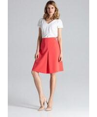 705352d171df Figl Růžovo-béžová sukně M317 - Glami.cz