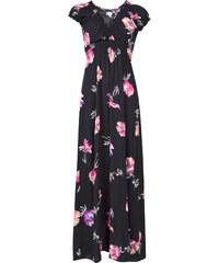9fc1d555ca52 Apricot dámské maxi šaty s květinovým vzorem černé