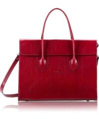 441cf84c8 Luxusná kožená kabelka do ruky veľká Lamato červená lam-01-5-001-