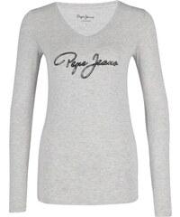 c3de7fbe285a Pepe Jeans dámske svetlo sivé tričko Mara