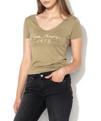 d3edfe04f0fa Pepe Jeans dámske khaki tričko Jane