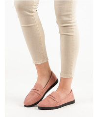 a8b195c64aec COMER SUEDE LOAFERS shades of pink