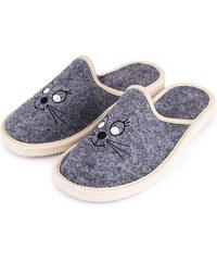 49b13350604e Vlnka manufacture s.r.o. Dámské luxusní filcové pantofle Micina Velikost  obuv dospělí  36