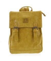 3d072ea4e5 Módny štýlový stredný batoh okrovo žltý - Enrico Benetti Traverz žltá