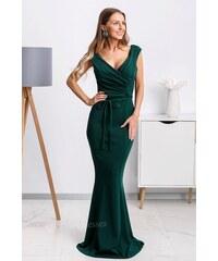 01f6d98c07bf Mia Dresses Smaragdové dlhé spoločenské šaty