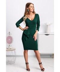 dd1dbb9188fa Mia Dresses Smaragdové midi šaty