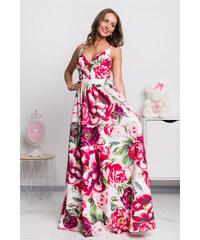 bd817d34d4 www.miadresses.sk Farebné kvetinové šaty s odhaleným chrbtom
