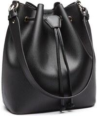 ffe674518f Černá dámská moderní kabelka ve tvaru vaku Agaja