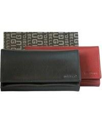 e50ec01319 Bellugio Dámska kvalitná kožená peňaženka ZD-02-063M - čierna