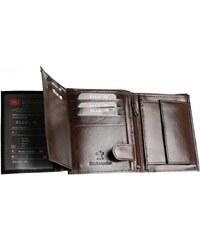 e67ad4f8af Pánska hnedá kožená peňaženka Bellugio AM-21-035-1369 1817 - Glami.sk