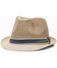630f338d6 Ombre Clothing Pánsky béžový klobúk H027
