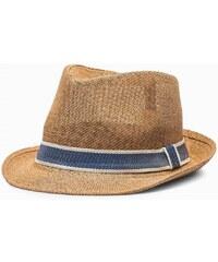 ad568a8fb Ombre Clothing Pánsky hnedý klobúk H027