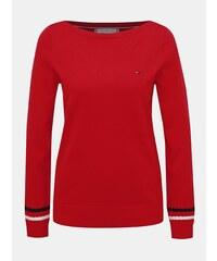 8548090bf4 Červený dámsky sveter Tommy Hilfiger New Ivy