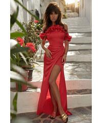 8bb3ba9cff Loula Červené šaty Astoria