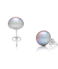 e2f4ae8ae Buka Jewelry Vuka Vpichovací perlové náušnice Mutiara 6 AA – sivá perla 306  301.306