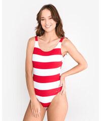 78d83d2f8 Tommy Hilfiger Cheeky Jednodielne plavky Červená Biela
