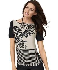 Mimoska Blusenshirt in elastischer Jersey-Qualität