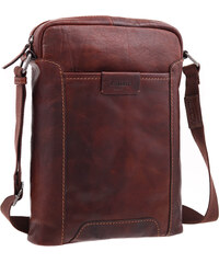 29e2b19e6e Pánská kožená taška přes rameno Lagen LN 24425 koňakově hnědá
