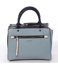 6e090172d8 Dámska kabelka do ruky svetlo modrá - David Jones Akiva modrá