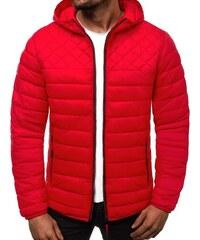 0b30d30c74 Ozonee Přechodná červená pánská bunda JS LY1010