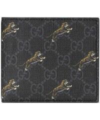 5487fe6147 Gucci Tiger Print GG Coin Wallet - Black