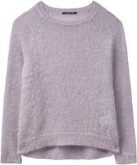 d7e97671f1 Luisa Cerano Dámsky fialový sveter s mohérom
