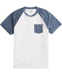 2fc4e5e62a HOLLISTER Tričko modrá   bílá