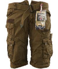 70b2dd837 GEOGRAPHICAL NORWAY kalhoty pánské PANORAMIQUE MEN BASIC 063 bermudy kapsáče