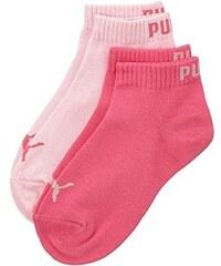 Puma Mädchen, Sportsocken, Puma Quarter Kids 2P