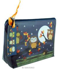 Santoro London - Kosmetická taška (malá) - Owls