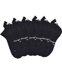 KangaROOS Sneakersocken (6er-Pack) in schwarz für Damen von bonprix