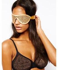 Gigi Noir - Augenbinde mit Pailletten - Gold