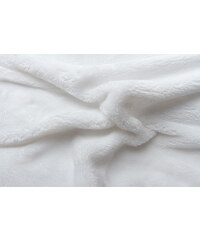 Svitap Prostěradlo mikroflanel bílé 90x200x20 cm