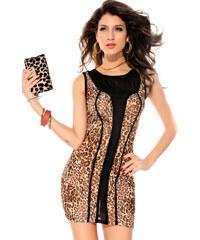 Extrémně svůdné leopardí šaty