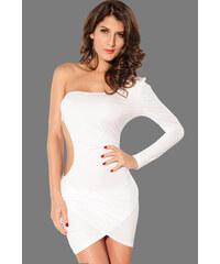 e6fb5196fd7 Sexy a odvážné bílé mini šaty