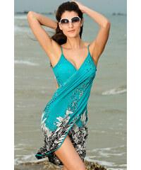 Plážové pareo modré
