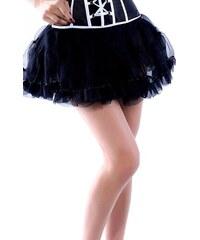 Tutu černá tylová sukně