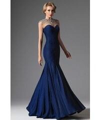 MiaBella Luxusní plesové šaty zdobené krystaly Barva  jako na obrázku ff67de822f