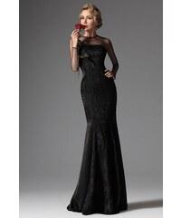 MiaBella Černé elegantní plesové šaty Barva  jako na obrázku 1836ab27e5