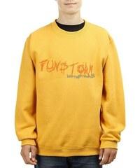Dětská mikina Funstorm Letters yellow L