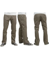 kalhoty REELL - Chino Pant 2 Taupe Taupe (TAUPE)