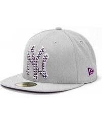 kšiltovka NEW ERA - Metrika New York Yankees Grey/Grape/Navy (GREY)