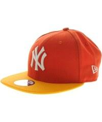 kšiltovka NEW ERA - Cotton Block New York Yankees Glze Red/A.Gol Glze (GLZE)